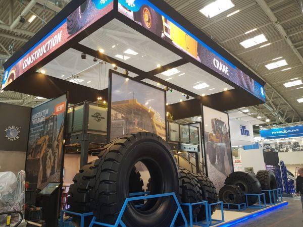BAUMA 2019 – Magna Tyres
